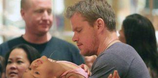 Matt Damon Menemani Putrinya