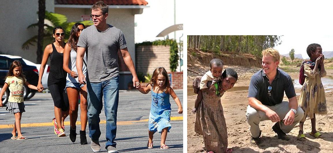 Prioritas Matt Damon