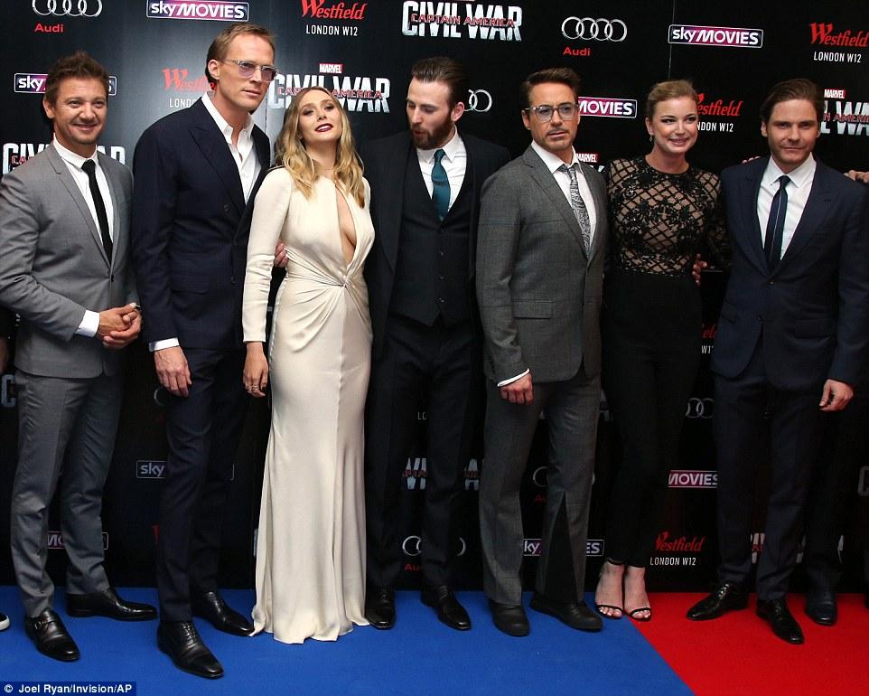 Red Carpet Captain America