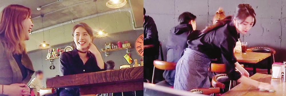 Bae Suzy Jadi Pelayan Kafe