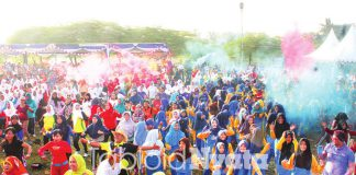Fun Color Aerobic Mojokerto