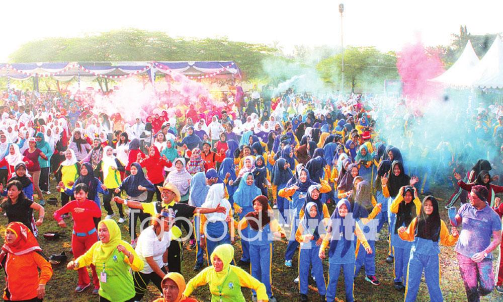 Fun Color Aerobic Mojokerto