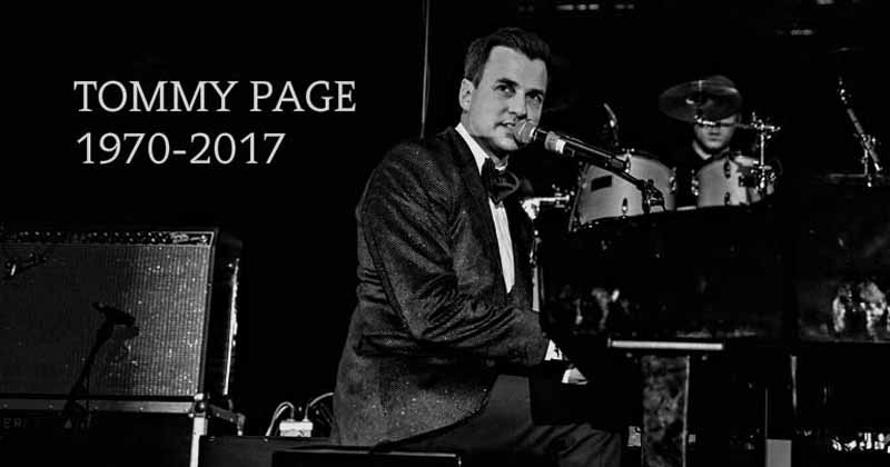 tommy page meninggal dunia