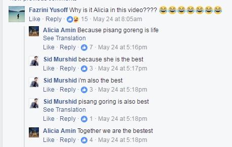 Alicia Amin Pisang Goreng