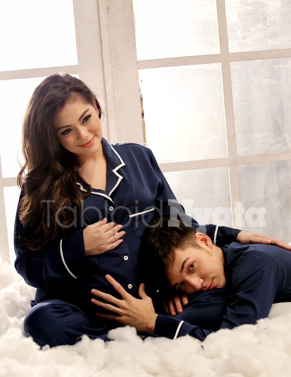 Kehamilan Celine