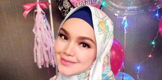 Reaksi Siti Nurhaliza