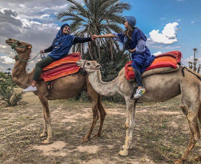 cinta-laura-dan-Frank Garcia di maroko