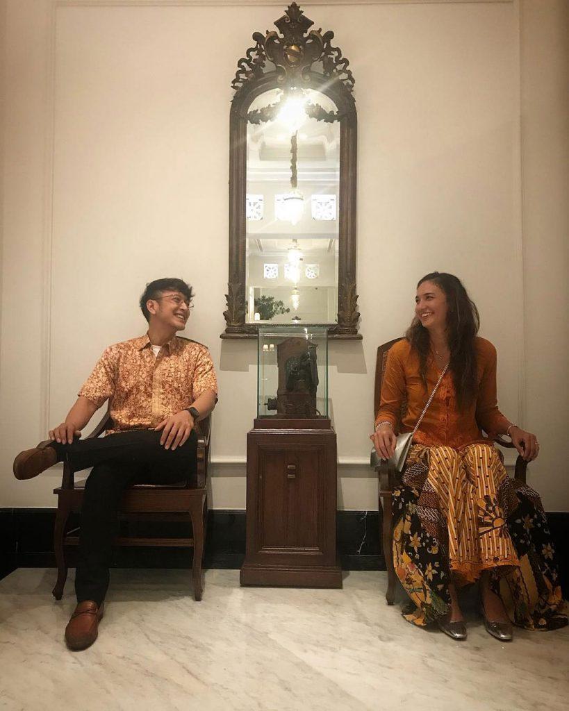 nadine Chandrawinata dan Dimas Anggara