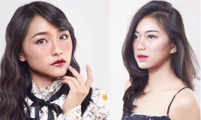JKT48 freckles makeup