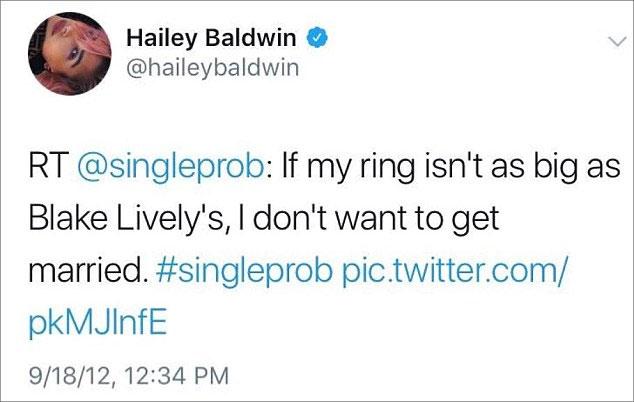 cincin-pertunangan-hailey baldwin dan justin bieber