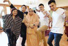 keluarga baim wong