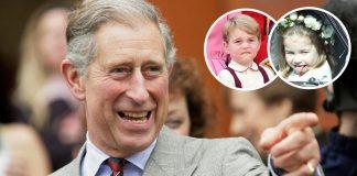 kenakalan-pangeran-george dan putri charlotte