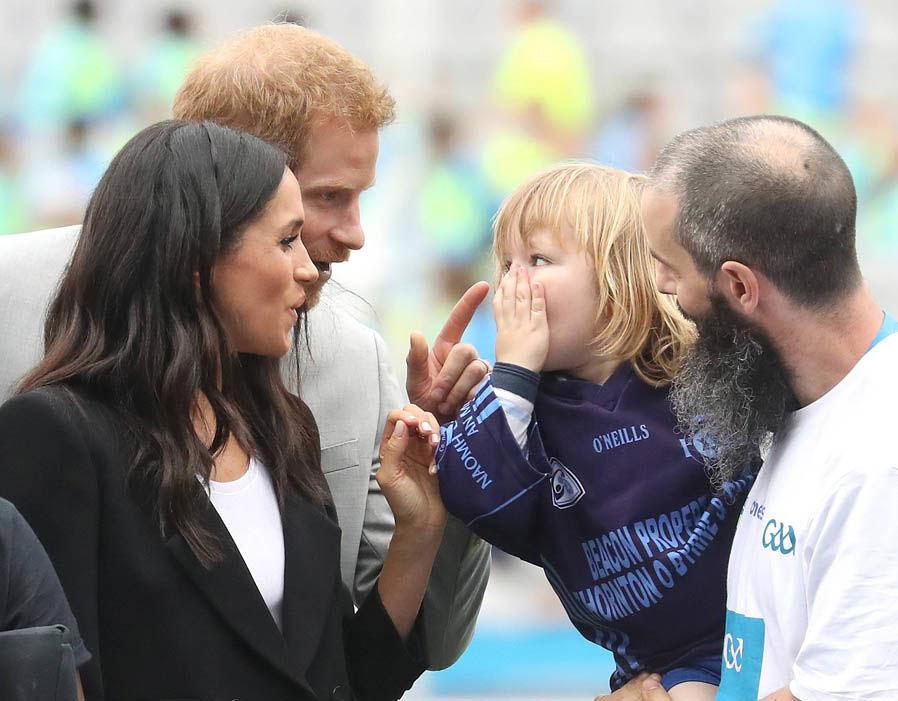 kunjungan Pangeran Harry dan Meghan Markle
