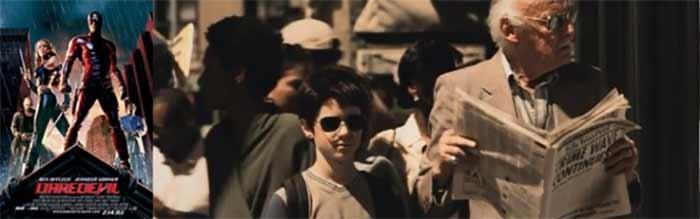 Stan Lee Daredevil 2003 Nyata