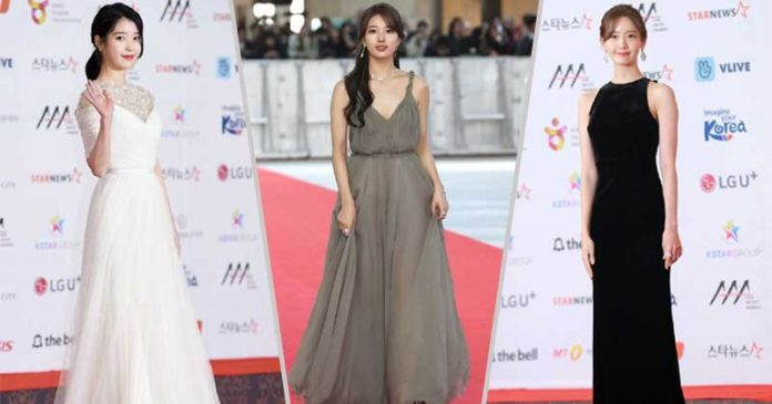 gaun-terbaik-di-asian-artist awards 2018