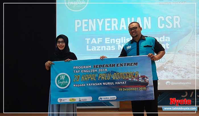 TAF English untuk Palu