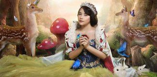 prilly-latuconsina-jadi-snow white
