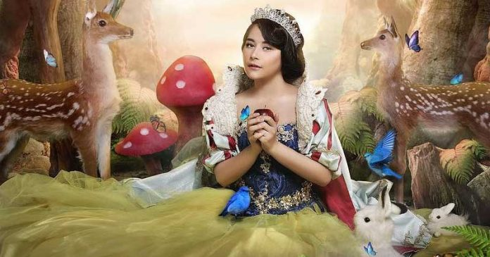 prilly-latuconsina-jadi-snow white