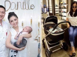 gaya-bella-shofie saat asuh anaknya