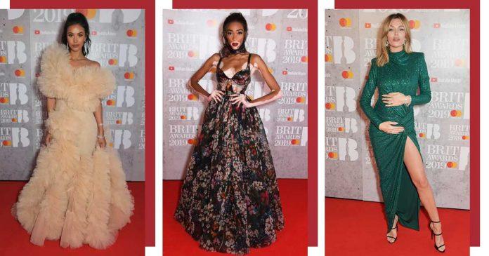 gaun-terbaik brit awards 2019
