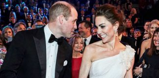 kate-middleton-dan-pangeran william di bafta 2019 4