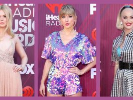 busana terbaik iheart radio music awards 2019