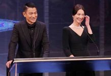 andy lau dan song hye kyo di hong kong film awards