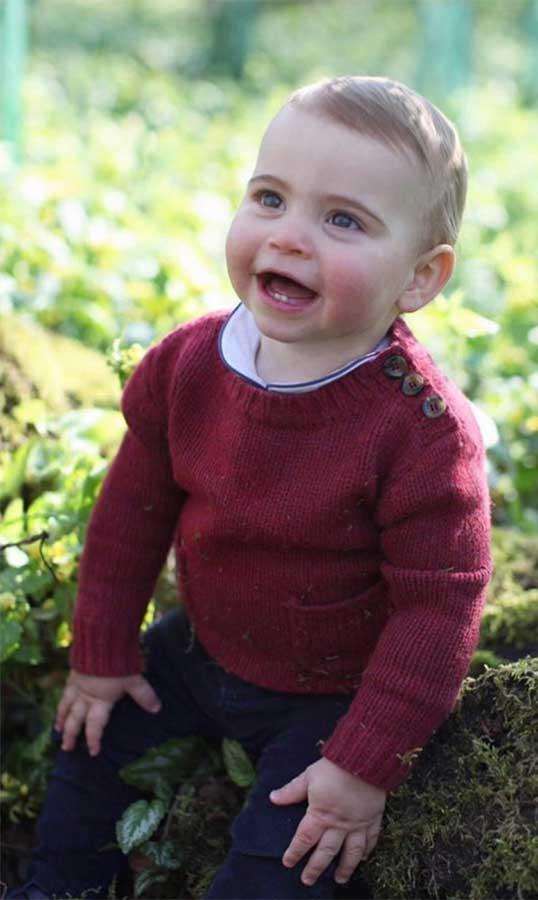 foto-ulang-tahun-pertama-pangeran louis