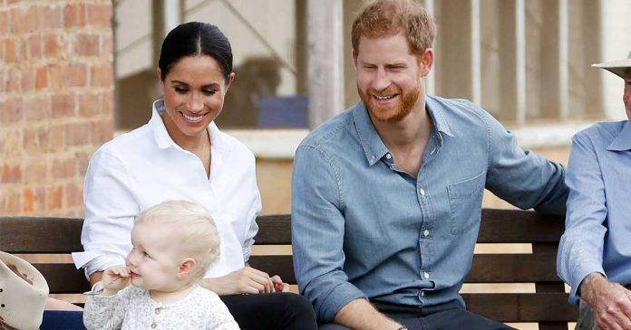 kado hari kelahiran anak meghan markle dan pangeran harry