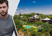 Rumah Chris Hemsworth