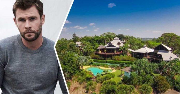 Rumah Chris Hemsworth