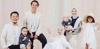 baju-seragam-lebaran-keluarga artis