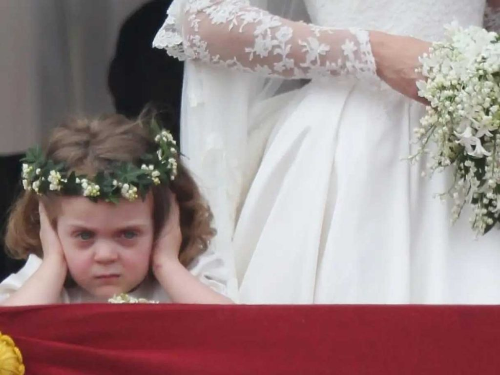bridesmaid marah-marah di pernikahan kate middleton