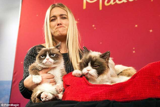 patung-grumpy-cat