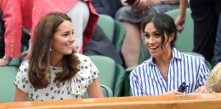 kate middleton jenguk anak meghan markle