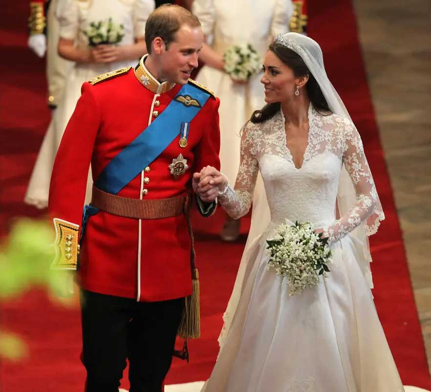 ulang tahun pernikahan kate middleton dan pangeran william 1