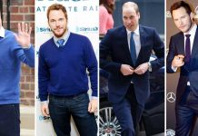 gaya chris pratt dan pangeran william kembar 6