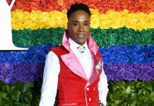 gaya gaun bentuk rahim billy porter di tony awards 2019