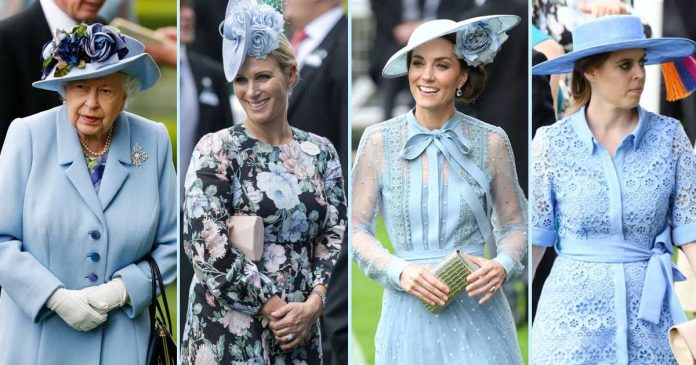 kate middleton royal family di royal ascot 2019