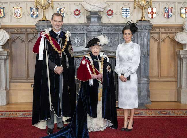 ratu letizia di order of garter