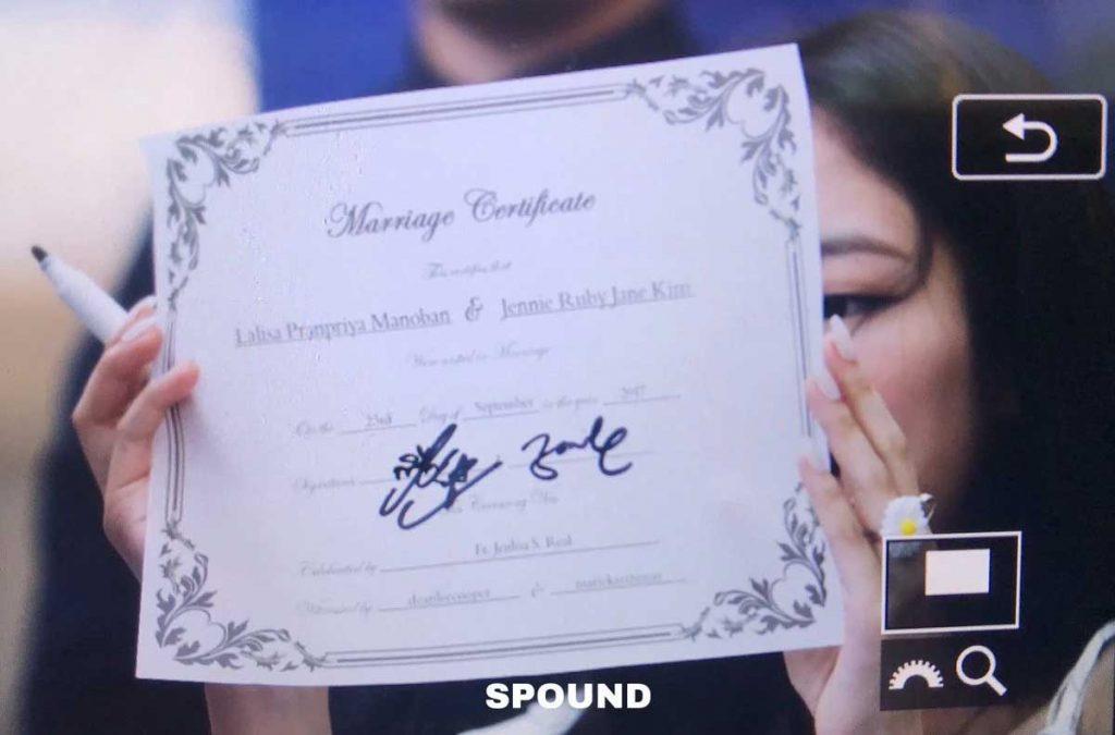 jennie-dan-lisa-blackpink menikah