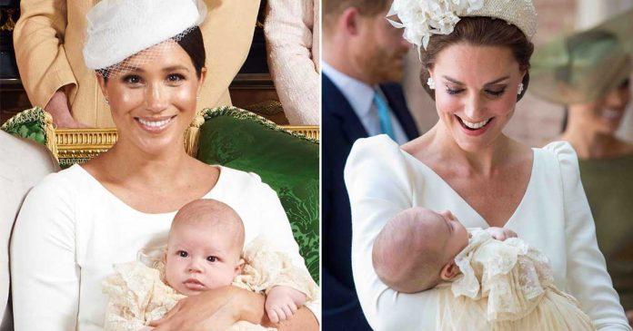 gaun baptis royal family membandingkan pembaptisan-anak-meghan-markle dan kate middleton