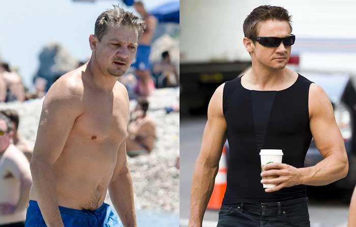 Bentuh tubuh aktor Marvel