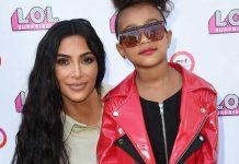 kim-kardashian-melahirkan north west