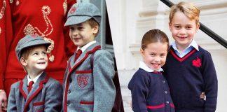 hari pertama-sekolah-royal-family
