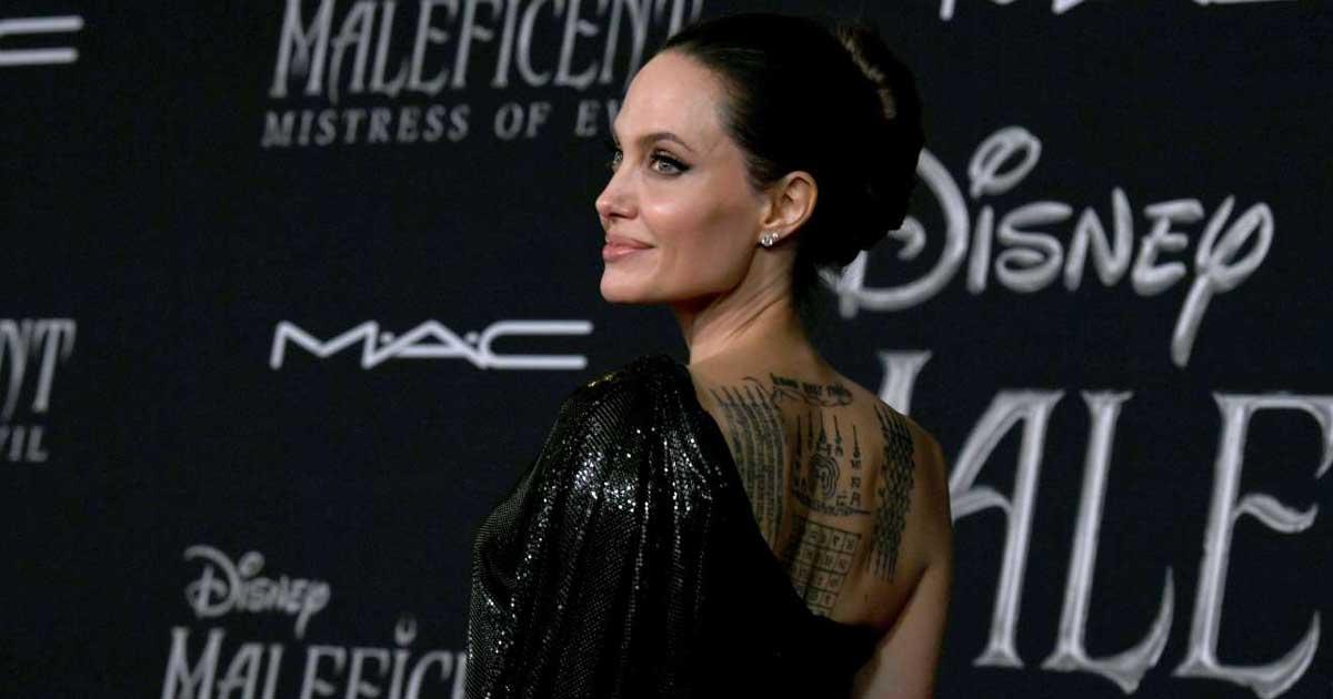 Angelina Jolie Premier Maleficent Mistress Of Evil 2019 Nyata