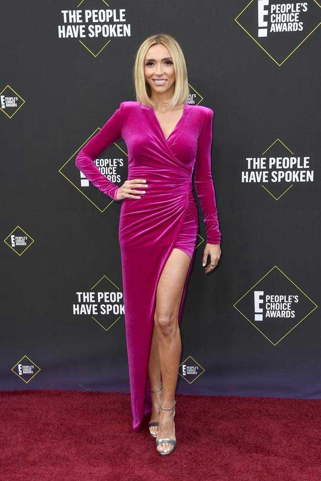 Giuliana-Rancic-in-peole's-choice-awards-2019