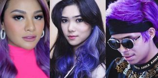 adu-gaya-seleb-rambut-ungu