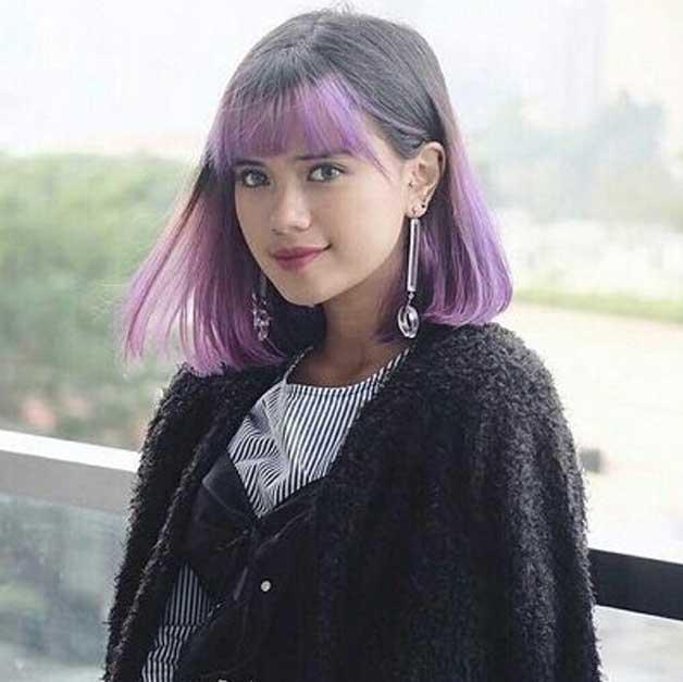 audi-marisa-rambut-ungu