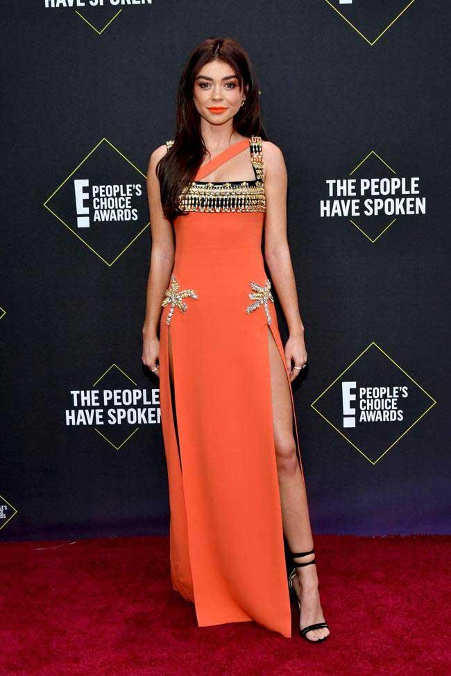 sarah-hyland di people's choice awards 2019